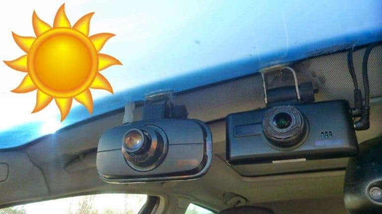 The Best Dash Cam for Hot Weather: Our 3 Top Picks for 2018