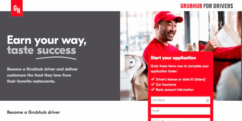 Grubhub Driver [The Complete Guide to Working for GrubHub