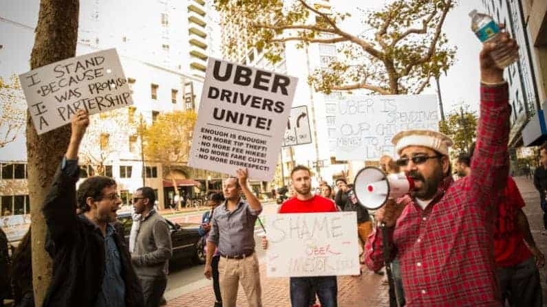 80% of Ride-Hailing Drivers Want to Organize for Better Pay