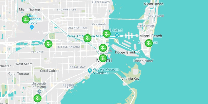 The Top 10 Best Zipcar Locations in the United States - Miami