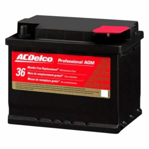 ACDelco 47AGM Professional AGM Automotive BCI Group 47 Battery
